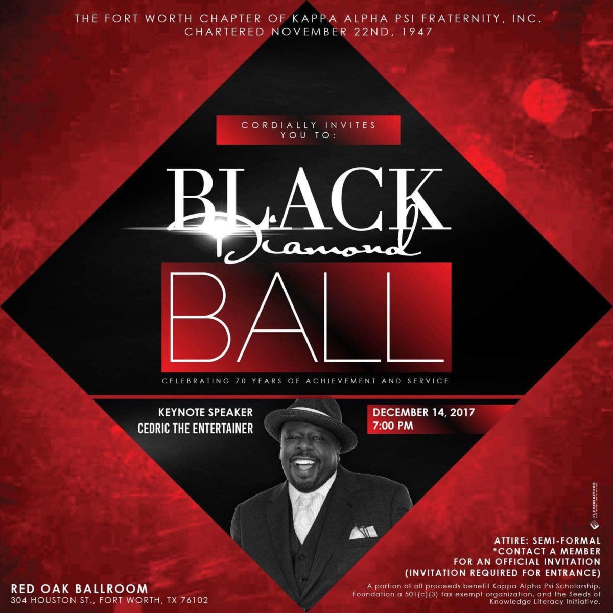 The Black Diamond Ball: FWAC 70th Anniversary Celebration